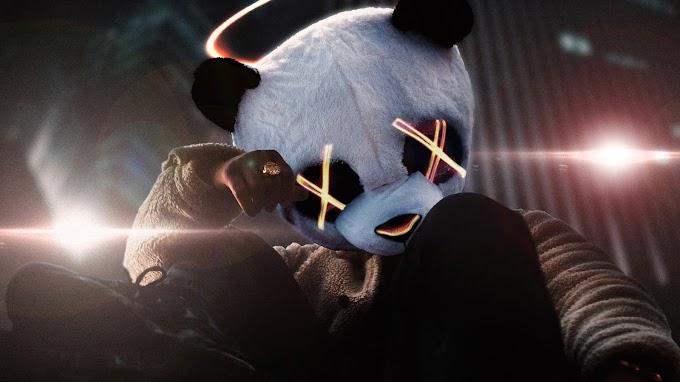 Panda Mascarado para Celular Masculino
