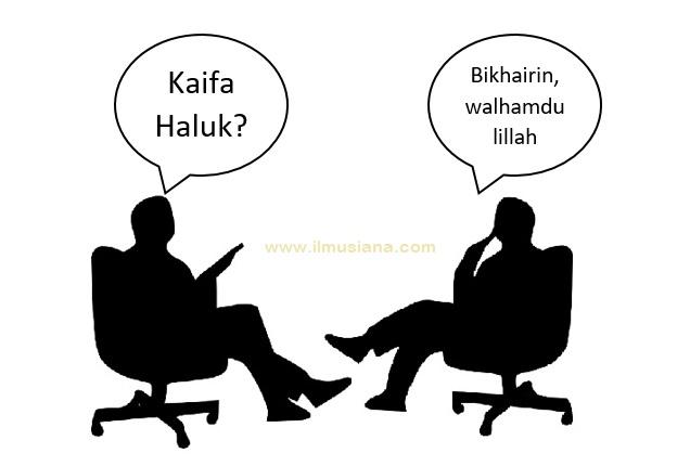 Jawaban / Balasan Kaifa Haluk