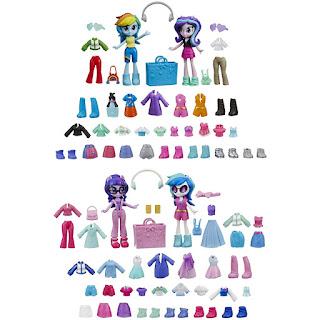 My Little Pony Equestria Girls Fashion Squad Best Friends Wave 1 Set