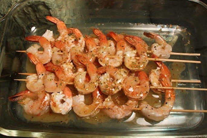 how to make grilled tequila shrimp