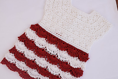 2 - Crochet Imagen Falda para canesú a crochet y ganchillo por Majovel Crochet