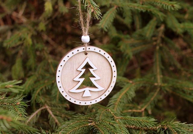 árbol de navidad sustentable