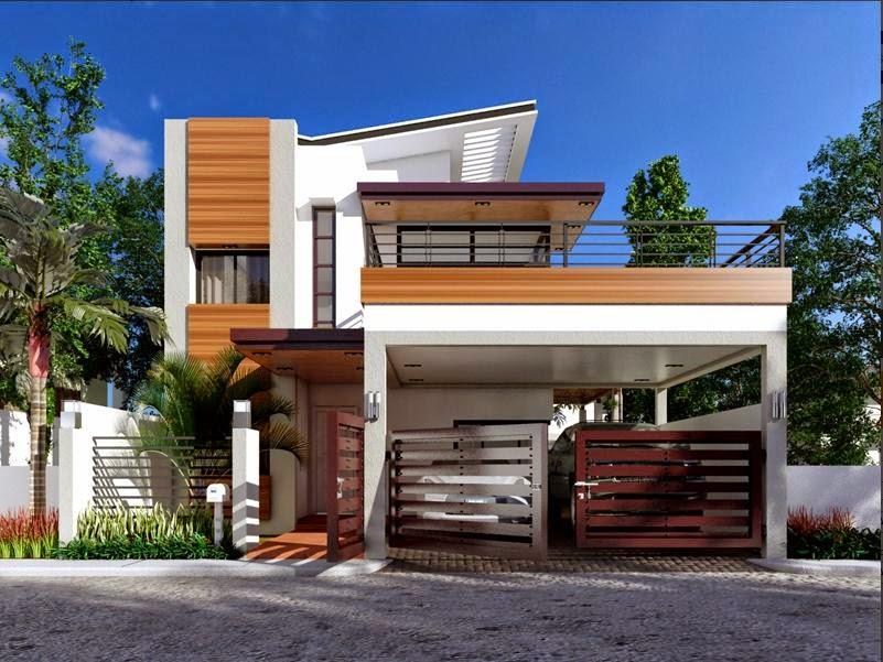 33+ BEAUTIFUL 2-STOREY HOUSE PHOTOS - modern small house design