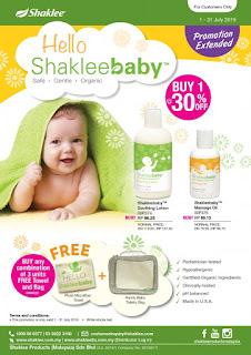 Shaklee baby; baby lotion; baby organic lotion; baby massage oil; shaklee sabah; shaklee sarawak