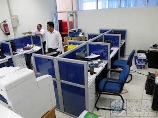 Harga Cubicle Workstation 6 Orang