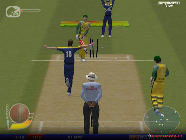 EA Cricket 2004 Gameplay Screenshot 2