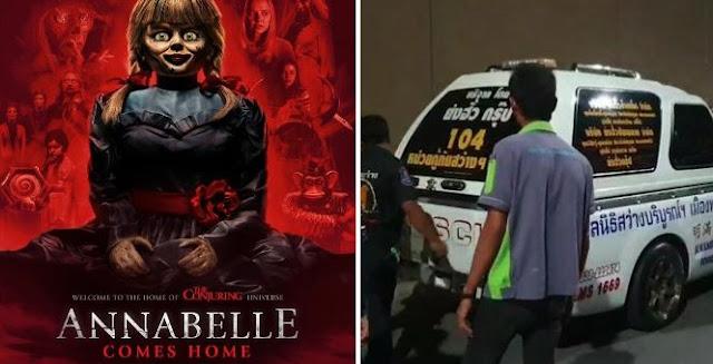 Turis Asal Inggris Tewas Didalam Bioskop Di Thailand Saat Nonton Film Horor Annabelle