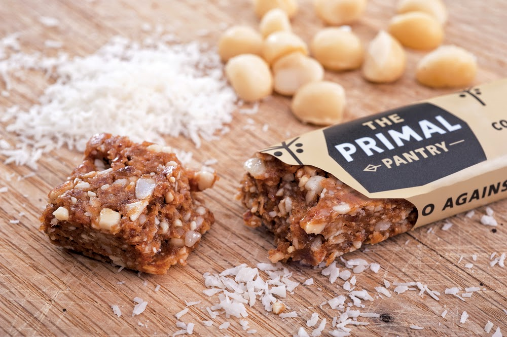 Primal Pantry Coconut and Macadamia Bar