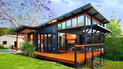5 Ide Desain Rumah Panggung Kayu Minimalis, Intip Yuk!