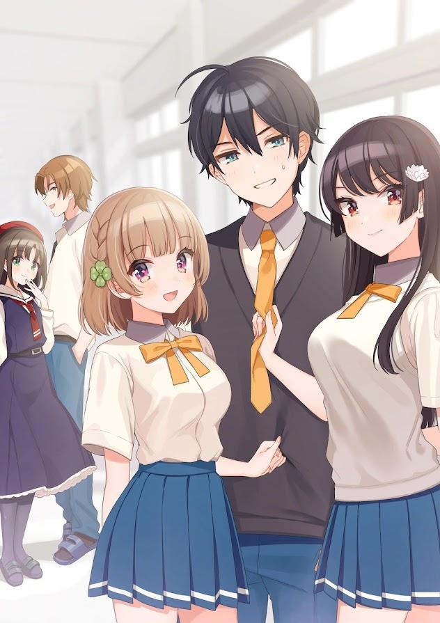 Póster del anime Osananajimi ga Zettai ni Makenai Love Comedy