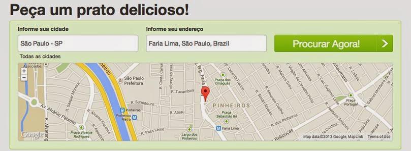 Como funciona o site da Hellofood, comida online.