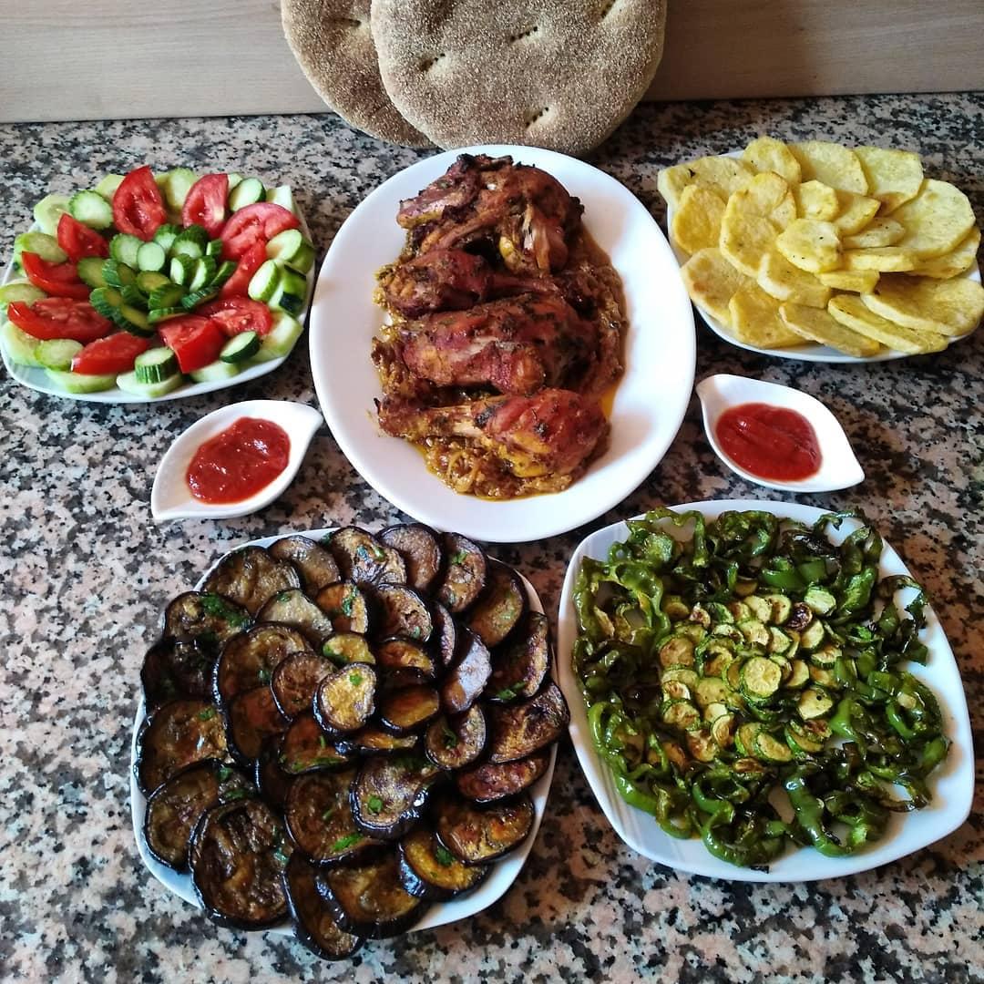 وجبة غداء صحية متكاملة موقع بسمة Maw9i3 Basma