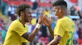 Brazil Coach, Tite Names Neymar, Firmino For Super Eagles Friendly [Full List]