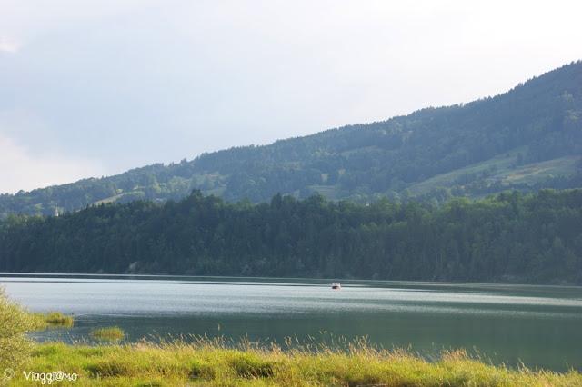 Uno dei tanti laghi in Svizzera: Lago di Gruyere