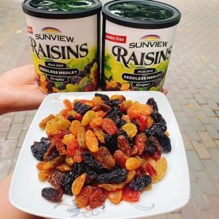Nho khô Raisins (Mỹ) - Hộp 200 Gram
