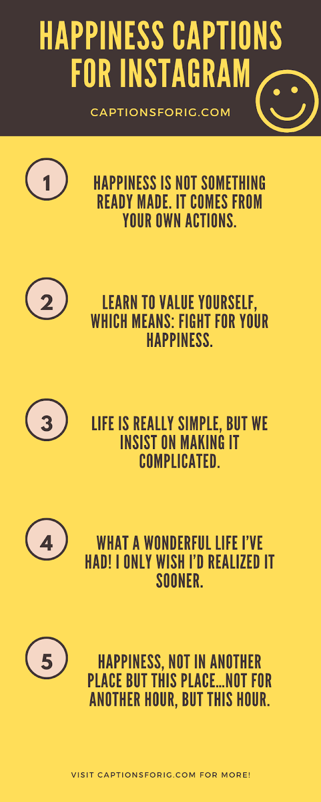 35 Joyful Instagram Captions On Happiness 2021 Captions For Ig