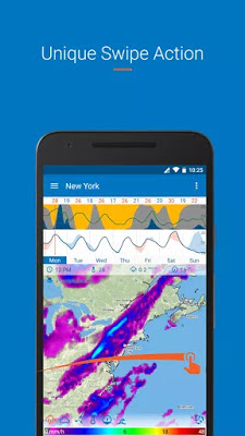 Flowx: Weather Map Forecast App v3.200 Pro