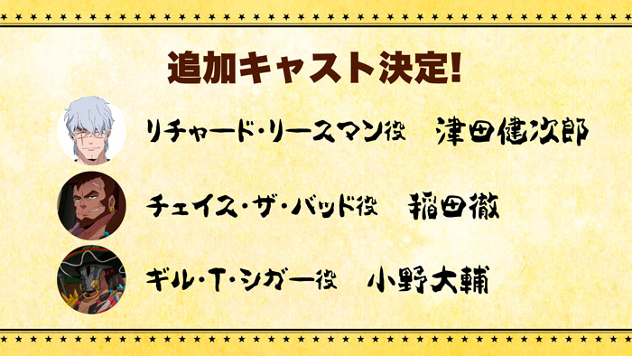 Appare-Ranman! anime - personajes
