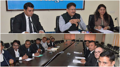 DG Prosecution Purshottam Sharma Visit To Jabalpur Madhya Pradesh News