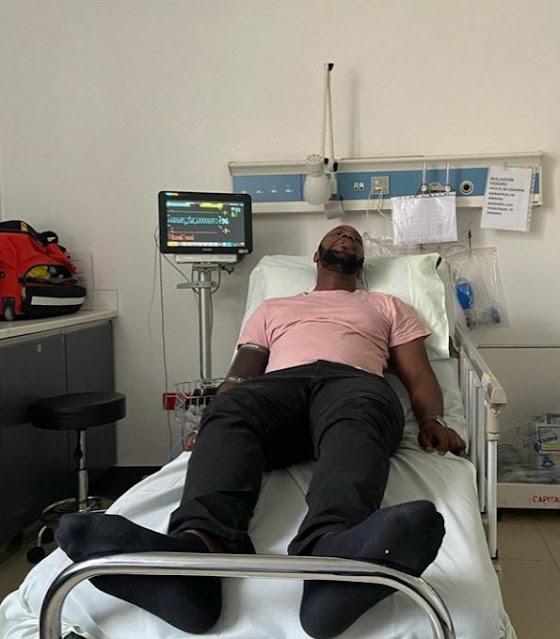 Popular blogger Edgar Obare suffers food poison