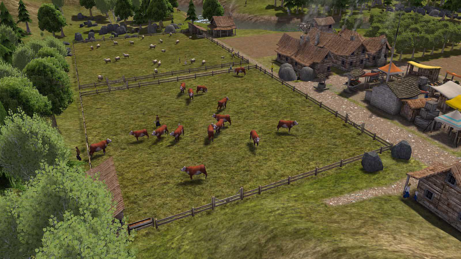 تحميل لعبة Banished مضغوطة برابط واحد مباشر كاملة مجانا