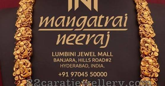 Temple Jewellery Mangatrai Neeraj Jewellery Designs