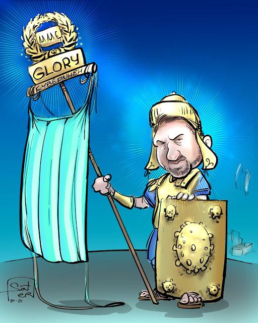 glory cartoon μμε πολιτική προστασία χαρδαλιάς xardalias κυβέρνηση χαρδαλιάς covi̇d19 politicalcartoon political cartoons ανασταση σκίτσο skitso skitso.biz soter www.skitso.biz