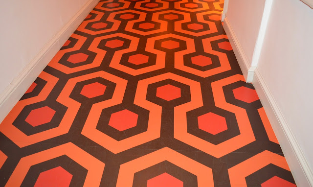 The Overlook Hotel carpet at Somerset House