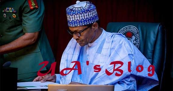 Buhari writes Senate, wants Magu's Chief of Staff confirmed as EFCC Secretary