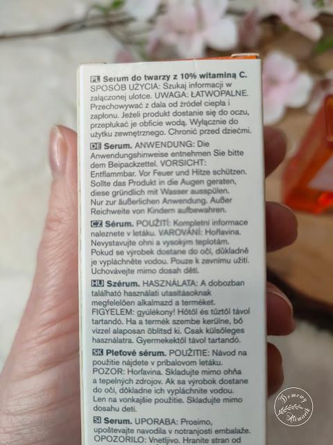 Serum z witaminą C ulotka