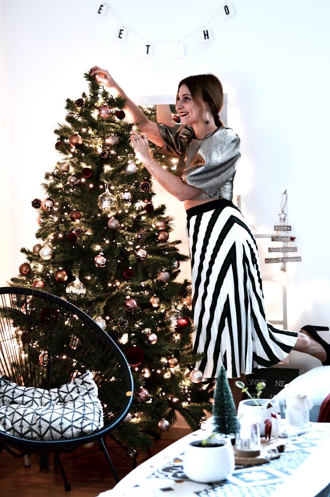 Look de Noël à la maison
