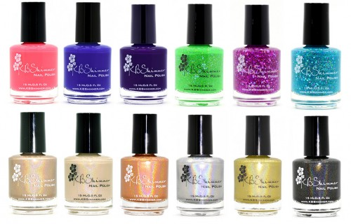 KBShimmer 2014 Early Summer Collection