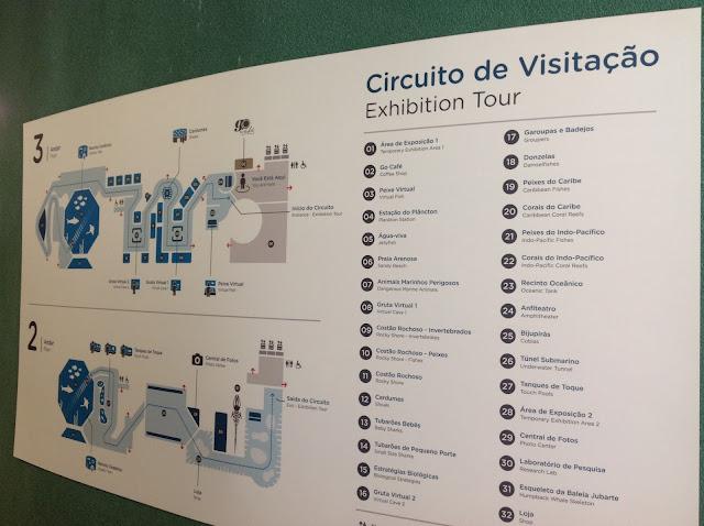 Circuito de Visitação do AquaRio