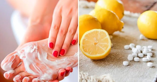Aspirin And Lemon Juice To Have Softer Feet