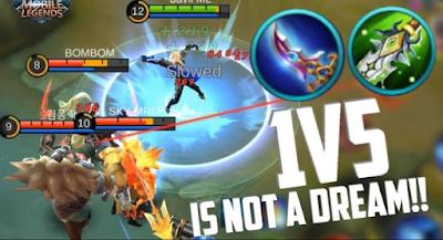 3 Hero Mobile Legends Paling Kuat dan Sakit Saat Serang Jarak Dekat