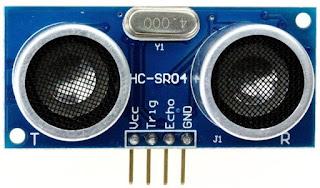Contoh Program Sensor Ultrasonik HC-SR04 Menggunakan Arduino UNO
