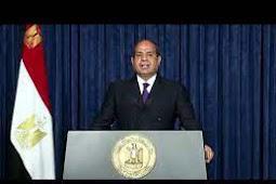 Inilah Pidato Presiden Mesir, Abdel Fattah Al-Sisi Saat Berbicara di Debat Umum PBB ke 75