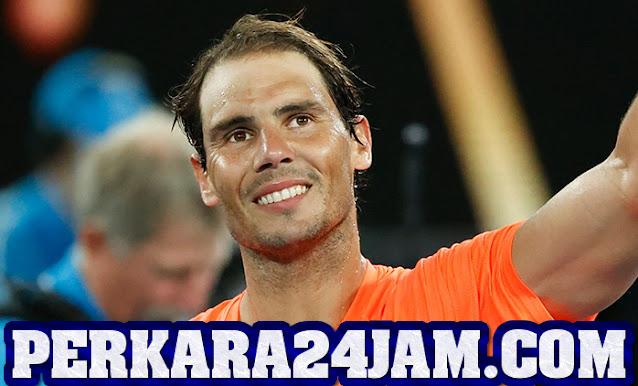 Petenis Rafael Nadal Berhasil Menang Dan Lolos Ke 16  Besar