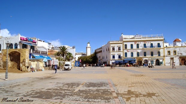 Essaouira, place Moulay Hassan