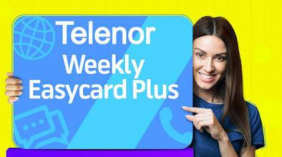 Telenor Weekly Easy Card Plus offer Package 2020