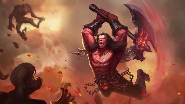 Balmond Berserker Heroes Fighter Tank of Skins Mobile Legends Wallpaper HD for PC