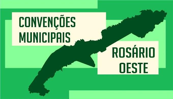 Partidos de Rosário Oeste realizam convenção nos dias 15 e 16 de setembro