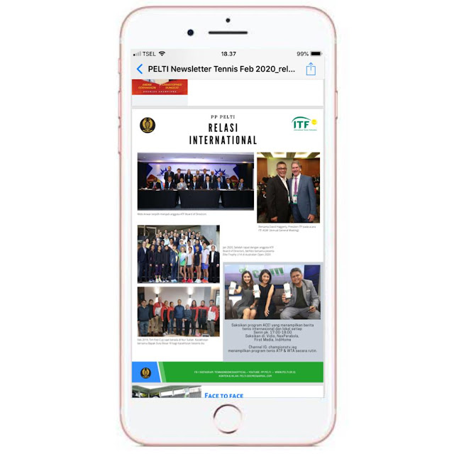PP PELTI Luncurkan Newsletter Edisi Perdana!