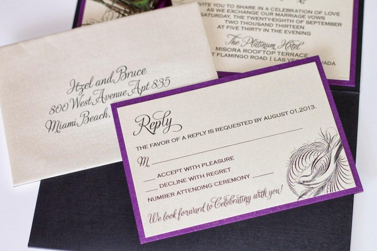 Wedding Invitations Az: Scottsdale, AZ Wedding Invitation