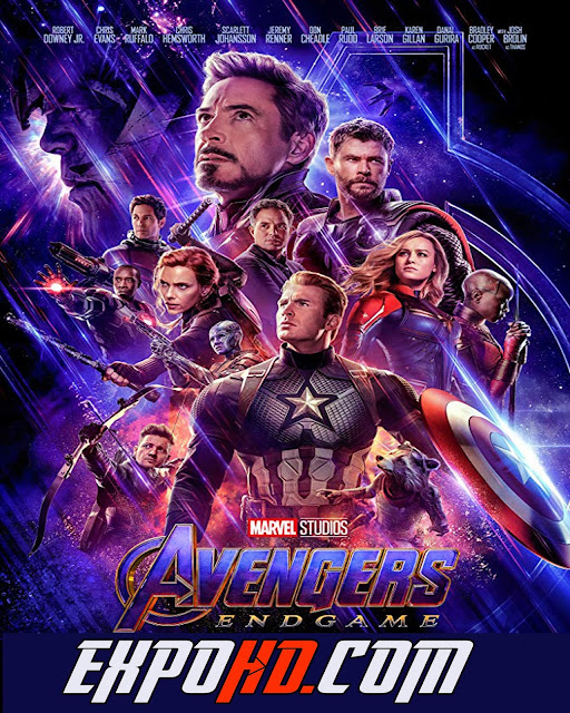 Avengers Endgame 2019 IMDb 480p | BluRay 720p | Esub 1.3Gbs [Watch & Download Here] G.Drive