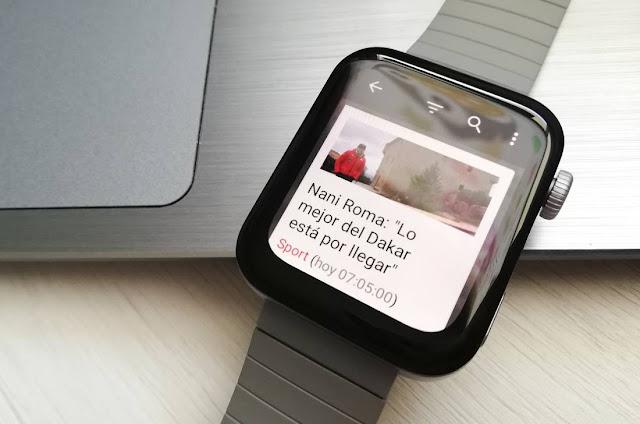 Leer noticias wear os miwatch