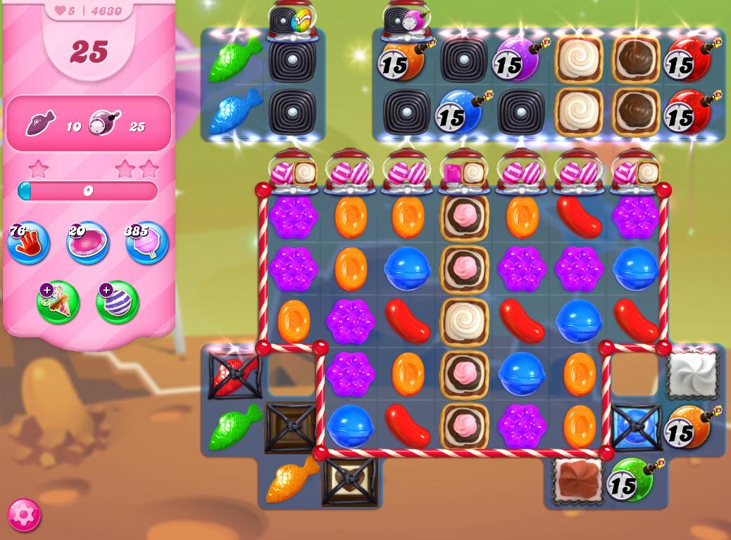 Candy Crush Saga level 4630