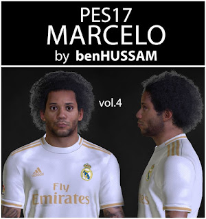 PES 2017 Faces Marcelo by BenHussam