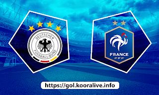 مشاهدة مباراة فرنسا ضد المانيا 15-06-2021 بث مباشر في بطولة اليورو