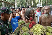 Dandim 0416/Bute Ikut Pesta Buah-Buahan Hutan